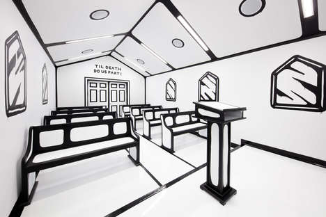 Cartoon-Like Wedding Chapels