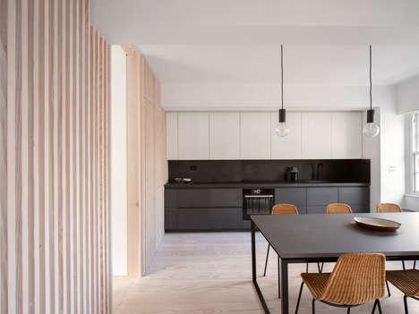 Divided Stylish London Apartments