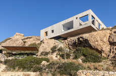 Rectangular Modern Cliffside Houses