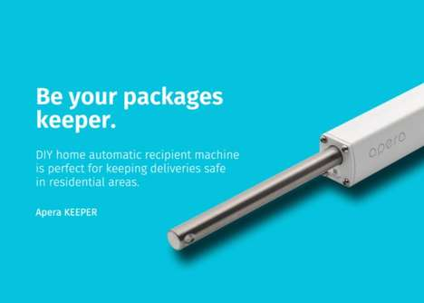 Package Delivery Protection Devices - The Apera KEEPER Secures Your Deliveries Until You Get Home