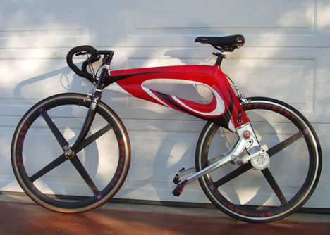 Efficient Chain-Free Bicycles - The 'NuBike' Reduces Stress on the Rider and Increases Speed