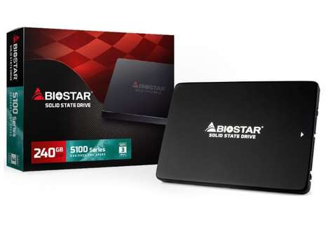 Advanced Economical Hard Drives - The BioStar S100 Plus Series SSDs are Fast and Cost-Effective