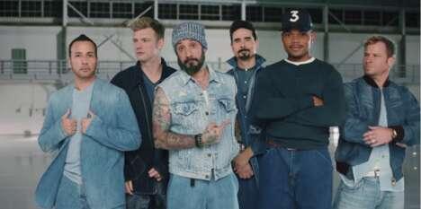 90s Boy Band Ads