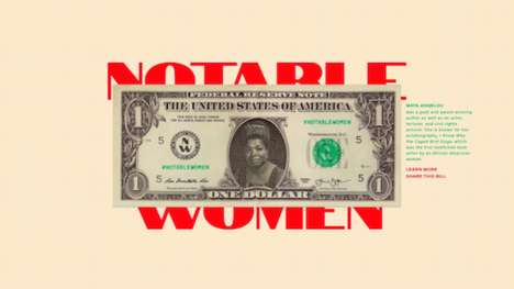 Female-Centric U.S. Currency - Rosie Gumataotao Rios' Project Pays Tribute to Leading American Women