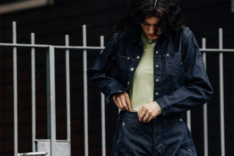 Eclectically Cut Denim Collections