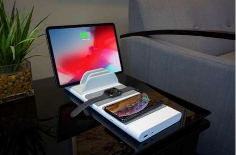 Organizational Technology Charging Docks - The SCOSCHE BaseLynx System Keeps Devices Looking Tidy