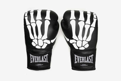 Skeletal Graphic Boxing Gloves