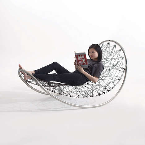 Stylish Stringed Cocoon Chairs