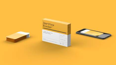Helpful Digital Detox Patches - Stupid Studio and Jacob Sørensen Work on a Digital Addiction Cure