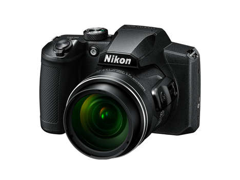 High-End Prosumer Cameras - The Nikon COOLPIX B600 Shows Off Specs to Beat Smartphones