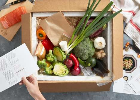 Ingredient-Specific Food Deliveries - UCOOK Lets Chefs Create Easy Recipes With Key Ingredients