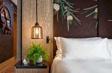 All-Vegan Hotel Suites - This Hilton London Bankside Suite Features Natural Materials & Fibres