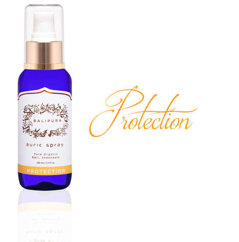 Crystal-Charged Auric Mists - Balipura's Volcanic Water-Based Aura Sprays Recharge the Chakras