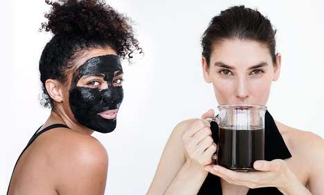 Mushroom-Based Face Masks - Four Sigmatic's Mushroom Face Mask & Tonic Can Be Applied or Consumed