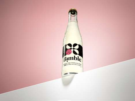 Sparkling Stress Relief Drinks - Bimble Has Double the Cannabidiol of Many CBD Drinks on the Market