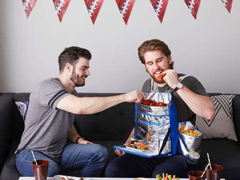 Wearable Snack Harnesses - The 'Reynolds Wrap Hunger Harness' Holds Drinks & Keeps Food Hot