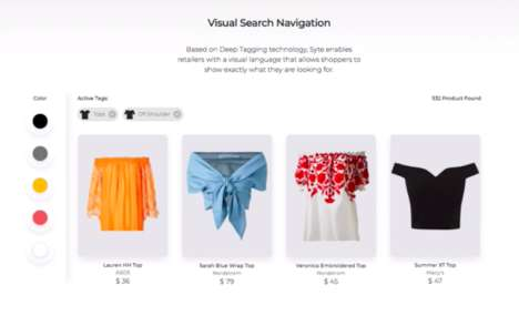 AI Visual Search Tools - Syte's VSN Lets Consumers Browse by Showing Versus Telling