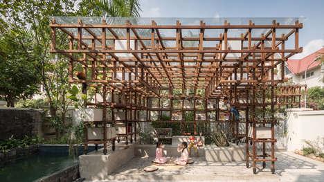 Library-Urban Farm Hybrids