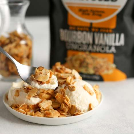 Grain-Free Paleo Granolas - Bubba's Fine Foods' 'UnGranola' is a Low-Glycemic, Oat-Free Granola