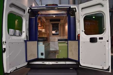 Voice-Controlled Camper Modules