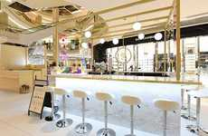 Pop-Up Skincare Cafes