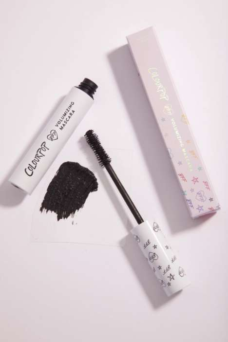 Heart-Covered Mascara Wands - ColorPop's BFF Mascara Arrives with an $8 Price Tag