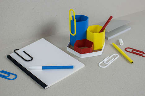 3D-Printed Stationery Lines