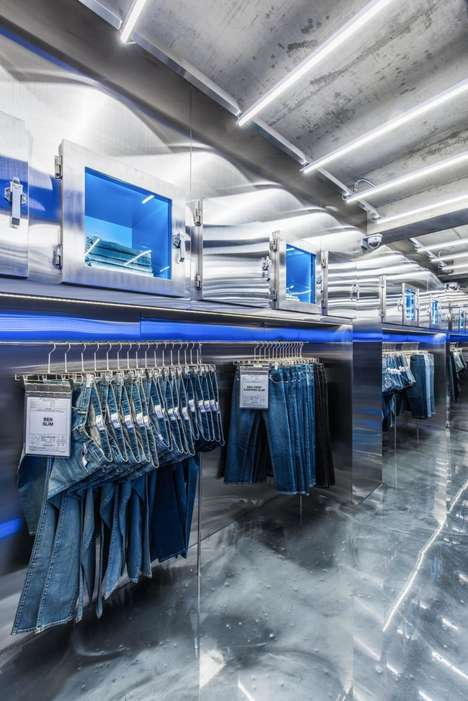 Unstaffed Denim Stores