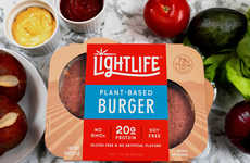 Pea Protein Burger Patties - Lightlife's Plant-Based Burger is Free From Soy, Gluten and GMOs