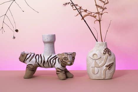 Sculptural Nature-Inspired Ceramics