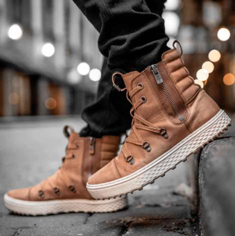 Fashion-Forward Hiking Boots - CODDI Boots are Made to Go from City Streets to Rugged Hiking Trails