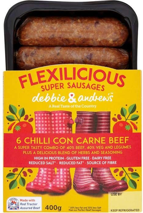 Hybrid Blended Sausages