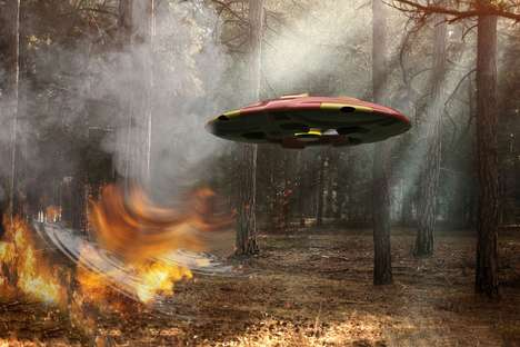Forest Fire-Detecting Drones