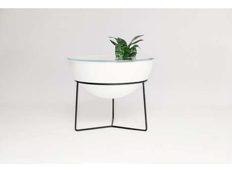 Multifunctional Drum-Inspired Tables