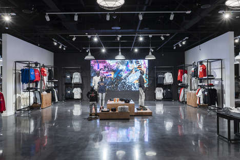 Culture-Centric Sneaker Shops