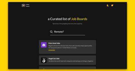 Curated Opportunity Job Boards