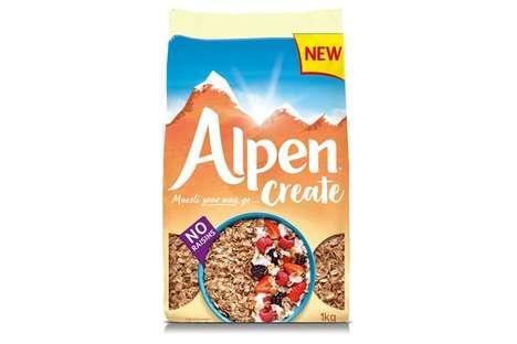 Customization-Focused Breakfast Cereals