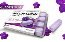 Enhanced Chewing Gums - BREATHFUSION's 'Healthy Gum' Features Added Vitamins, Minerals & Extracts
