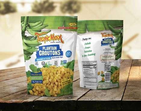 Gluten-Free Plantain Croutons