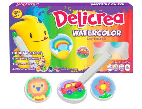 Edible Watercolor Toys