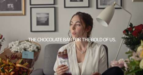 Boldly Unapologetic Chocolate Campaigns
