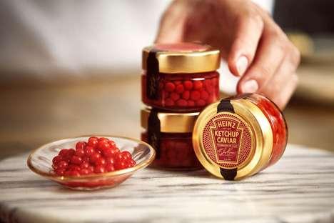 Indulgent Tomato Sauce-Inspired Caviar