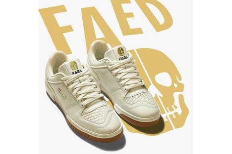 Logo-Fusing Contemporary Sneaker Designs