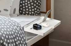 Bed-Affixed Smartphone Docks