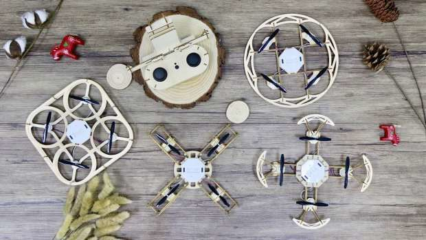Timber DIY Assembly Drones