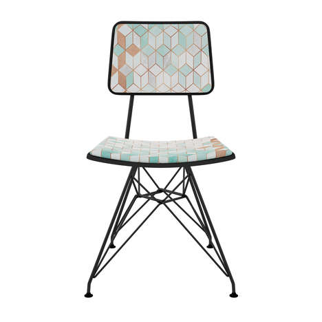 Chic Art-Deco Dining Chairs
