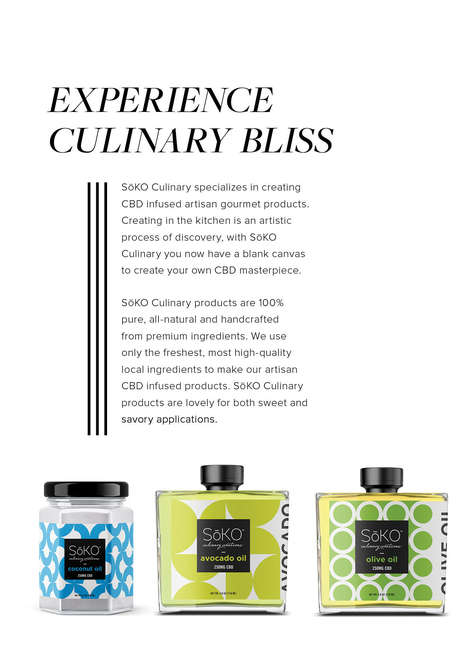 CBD-Infused Cooking Oils
