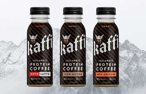 Icelandic Protein Coffees
