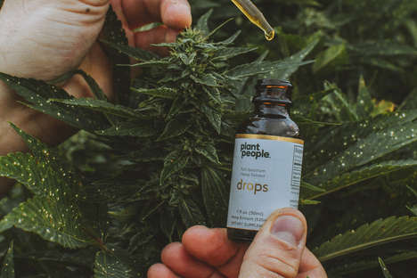 Stress-Reducing CBD Drops - Plant People Release a Product That Will Help with Stress and Anxiety