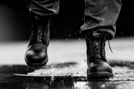 Waterproof Military-Inspired Boots